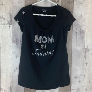 Motherhood Maternity 'Mom In Training'  tee size S
